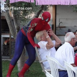 Fiesta Alex Spiderman